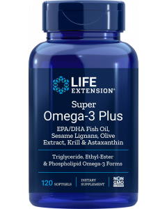 LIFEEXTENSION SUPER OMEGA-3 PLUS 120KPS