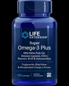 LIFEEXTENSION SUPER OMEGA-3 PLUS 120KPS