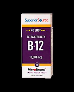 SuperiorSource B12 Metyylikobalamiini 10 000 µg