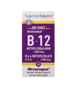 SUPERIOR S B12 1000MCG B6 AKTIIVINEN