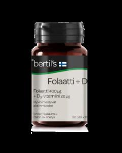 BERTIL'S FOLAATTI+D3 90TBL