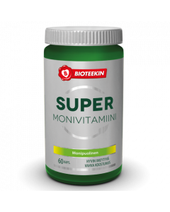Bioteekin Super Monivitamiini