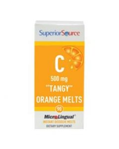 "SuperiorSource C 500mg ""Tangy"" Orange Melts"