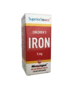 SUPERIOR S CHILDREN`S IRON 5MG
