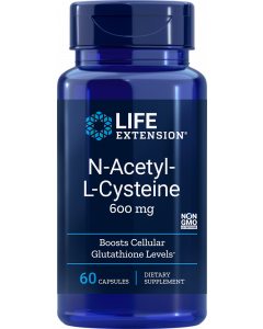 LifeExtension N-Acetyl-L-Cysteine 600mg