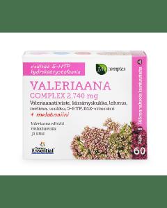 VALERIAANA COMPLEX 2.740MG 60KAPS