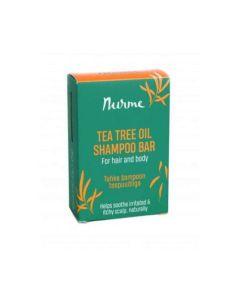 NURME SHAMPOO BAR TEA TREE OIL 100G