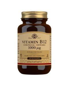 SOLGAR VITAMIN B12 1000MCG 250TABL