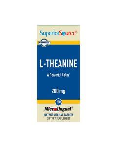 SuperiorSource L-teaniini 200 mg