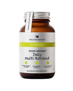 WILD NUTR CHILD DAILY MULTI NUTR 60KAPS