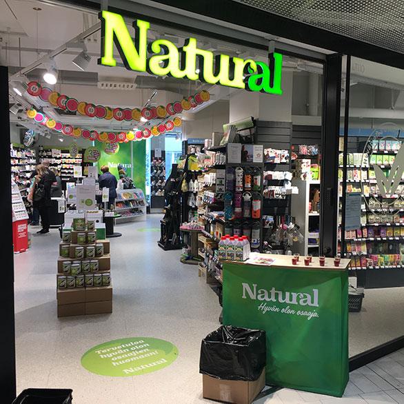 Natural Kauppakeskus Valkea